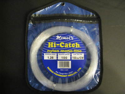 Momoi 150Lb 100Yds Clear White 01151 Hi-Catch Leader Coil ()