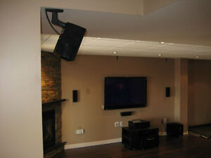 Home&Commercial Installation; security, audio/video, network, HT