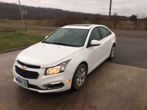 2015 CHEVROLET CRUZE 1LT-ONLY 44,000KMS-AUTOMATIC-SUPER CLEAN
