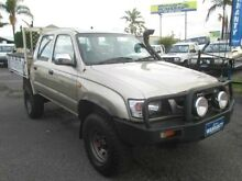2004 Toyota Hilux LN167R MY04 Gold 5 Speed Manual Utility Archerfield Brisbane South West Preview