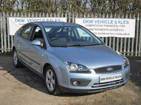 FORD FOCUS 1.6 ZETEC CLIMATE 5DR 2005 (55) ONLY 60K FSH 11 X STAMPS / TWO OWNERS