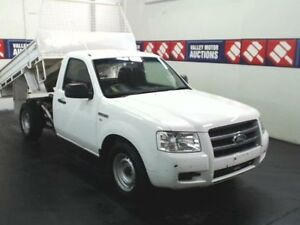 2008 Ford Ranger PJ 07 Upgrade White Tipper 2.5l Cardiff Lake Macquarie Area Preview