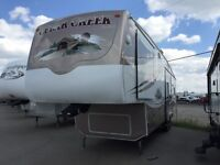 REDUCED $2k! 2006 CEDAR CREEK 37 RDQS FIFTH WHEEL