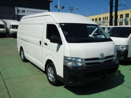 2012 Toyota Hiace KDH221R MY12 Upgrade SLWB White 4 Speed Automatic Van Canada Bay Canada Bay Area Preview