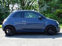FIAT 500 0.9 TWINAIR PLUS 3d (blue) 2011