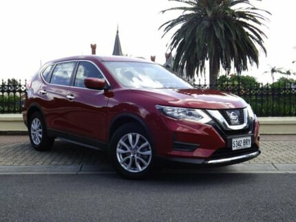 2017 Nissan X-Trail T32 Series II ST X-tronic 2WD Red 7 Speed Constant Variable Wagon Medindie Gardens Prospect Area Preview