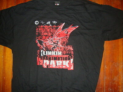 LINKIN PARK Hybrid Theory tee shirt 2003 Dated Sz Adult 2XL VINTAGE TEE