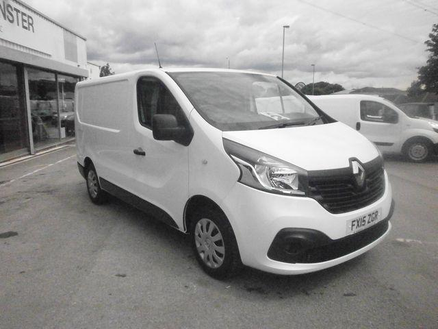 Renault Trafic Sl27dci 115 Business+ Van DIESEL MANUAL WHITE (2015)