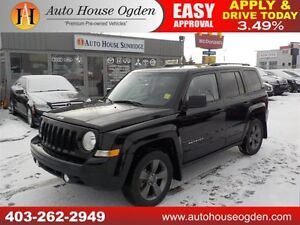 2015 Jeep Patriot High Altitude 4wd leather roof only $13988