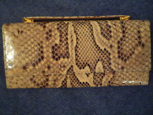 'Snakeskin' Clutch Purse
