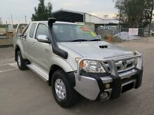 2006 Toyota Hilux KUN26R MY07 SR5 Silver 5 Speed Manual Utility Silverwater Auburn Area Preview