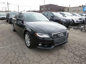 2011 Audi A4 Quattro - AWD|Htd Leather|Sunroof|B/tth - Excellent