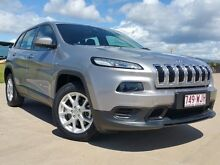 2014 Jeep Cherokee KL Sport Silver 9 Speed Sports Automatic Wagon Garbutt Townsville City Preview