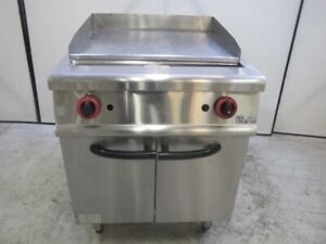 GRAYSONLINE AUCTION Gasmax 600mm Hotplate / Flat Top Griddle on Stand