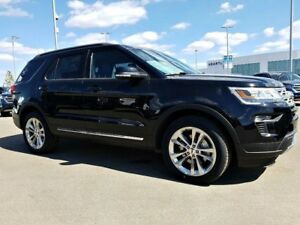 2018 Ford Explorer XLT-3.5L V6 Engine, 4WD,Leather,Tow pkg, Moon