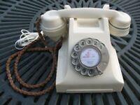 Vintage Ivory GPO Bakelite Telephone