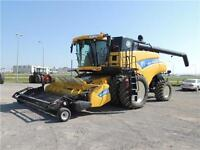 2010 New Holland CR9080 523 HP CLASS 9 Combine, 30 MOS INT FREE