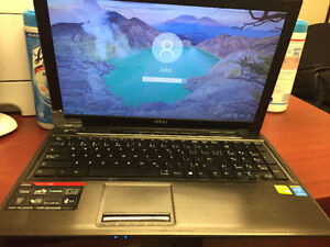 MSI Gaming Laptop  -Intel Core i5 4210 CPU @ 2.60 Broken hatch