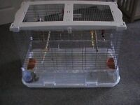 Large Bird Cage, Hardly Used, In excellent Condition.