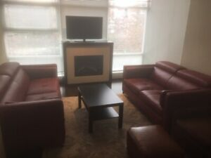 Furnished 2 bedroom and den for rent in North Vancouver