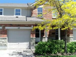 3 Bedroom, 3 Bathroom Townhouse in South Guelph