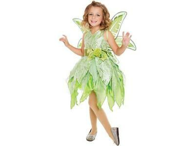 Green Fairy Costumes (Living Fiction Fancy Tinker Fairy Costume Green, Dress and Belt)