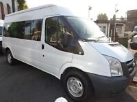 FORD TRANSIT 15 SEAT MINIBUS TURBO DIESEL NORTH LONDON CHOICE OF 2