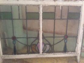 sash windows lead stain glass