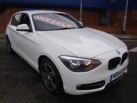 64 BMW 116 2.0TD ( bhp ) ( s/s ) D SPORT AUTO //SNAV/ £30 A YEAR ROAD TAX //