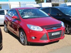 2012 Ford Focus LW MkII Trend Red Sports Automatic Dual Clutch Hatchback Minchinbury Blacktown Area Preview