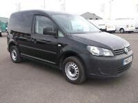 Volkswagen Caddy 1.6 TDI 75PS STARTLINE VAN DIESEL MANUAL BLACK (2013)