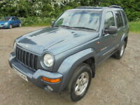 Jeep Cherokee 3.7 V6 Limited (blue) 2002