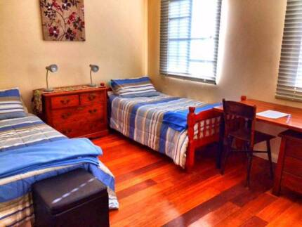 1 guy needed for 2-share room. $230/wk incl WiFi and utilities