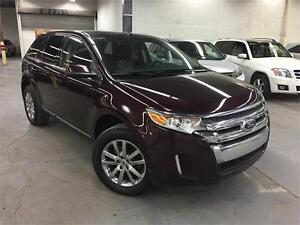 FORD EDGE SEL LIMITED 2011 AWD/ CUIR/CAMERA/GPS/ FULL!