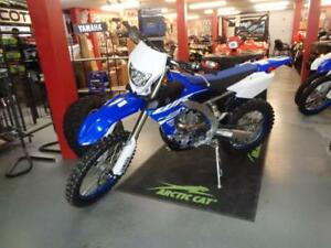 2018 YAMAHA  WR450F PERFECT FOR ON AND OFF TRAILS!
