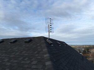 HD Antenna Installation and repairs $100