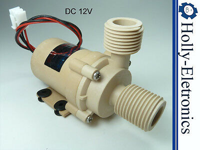 Dc 12v High Temperature Brushless Water Pump 480lph126gph 105c221f