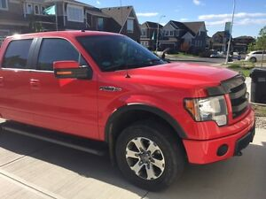 2013 Ford F-150 FX4 Red Pickup Truck - Great Condition - Low Kms