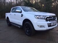 Ford Ranger Pick Up 4x4 Double Cab Limited 2 3.2 TDCi (white) 2016