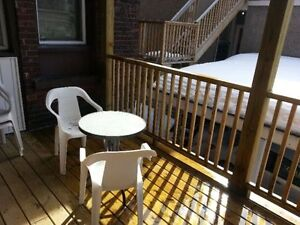 Huge bachelor downtown for Sublet May 1st