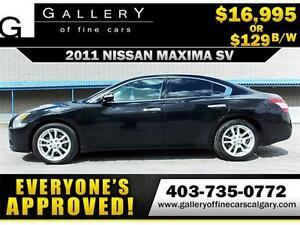 2011 Nissan Maxima 3.5 V6 SV $129 BI-WEEKLY APPLY NOW DRIVE NOW