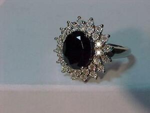 #1313-JUST APPRAISED! 10K W/Gold Natural BLACK ONYX & DIAMOND(32) FANCY RING-Size 6 1/2-APPRAISED $1750.00 SELL $495.00