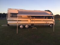 1990 Hymer 694 motorhome A class tag axel