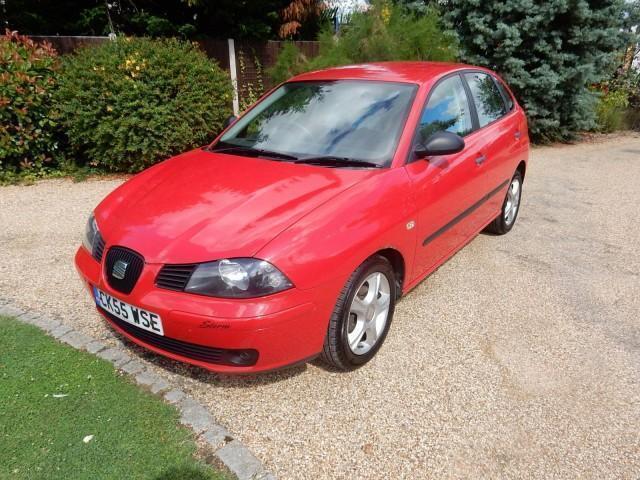 CHEAP CAR - 2005 55 SEAT IBIZA 1.2 SX 12V 3D 63 BHP