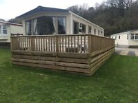 Pre Owned 2013 Abi Malvern Static Caravan on LUXURY HOLIDAY PARK, Red Wharf bay, Anglesey