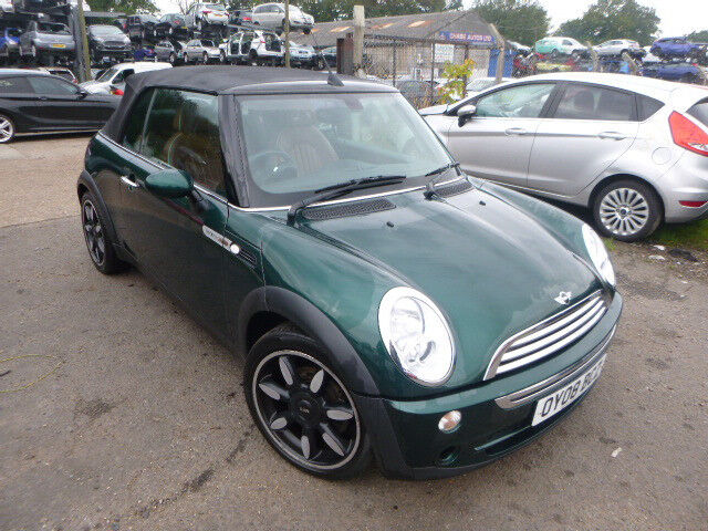 MINI COOPER SIDEWALK CONVERTIBLE - OY08BCZ - DIRECT FROM INS CO