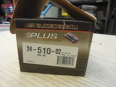 91-94 Nissan Sentra Front Semi Metallic Disc Pads 24-510 BP-177