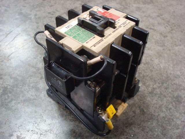 USED Mitsubishi S-K35 Motor Starter Contactor Module 35 Amps 18.5kW Max.