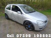 VAUXHALL CORSA 1.4 SRI 16V TWINPORT 3d 90 BHP PX TO CLEAR (silver) 2005