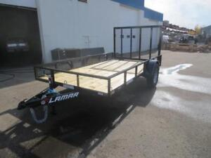"UTILITY TRAILER 77"" X 12'  3K, 4' LAY DOWN GATE WITH ASSIST"